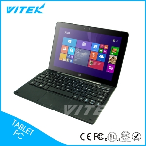 "I100D  10.1"" Intel Windows 10 Tablet with Keyboard"