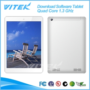 "2014 Products 3G 8"" Quad Core Download Software Tablet Chinese"