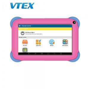 7 inch Cheap Price Quad Core Learning Drawing Education Android Tablet Kids