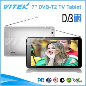 7 inch Digital TV Tablet with DVB-T2