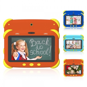 Beautiful Ui Learning Playing Apps 7 Inch Kids Android Educational Tablet