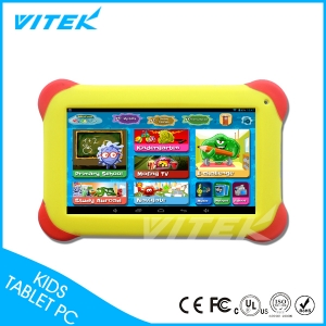 VTK01 7inch numérique Dessin Tablet For Kids, Tablet PC Education Enfants, gros Mofing Android Tablet apprentissage enfants Tablet enfants