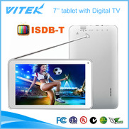 China 7 inch Dual core Android tablet with ISDB-T TV factory