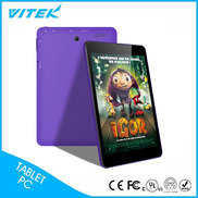 China 7.85 inch Cheap Camera WIFI Quadcore Smart Easy Touch Tablet factory