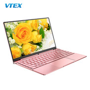China Cheap Laptops For Students Mini Pink 14.1 Inch N5095 Processor 4 Core Thin And Light Metal Home Notebook Computer Laptop factory