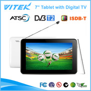 "China Hot 7"" Dual core Android TV Tablet factory"