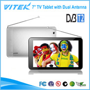 China New 7 inch DVB-T2 TV Tablet with Dual Antenna factory