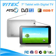 China New 7inch dual core watch TV on Android Tablet factory