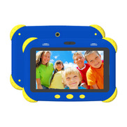 中国7 Inch A133 Qual Core Plastic Android Baby Games Tablet Kids工厂