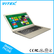 "China VK133  13.3"" Netbook with Intel Quad Core CPU factory"