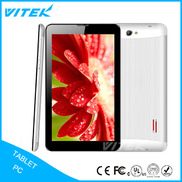 China VTG01 Low price 3g tablet pc with phone call function,7 inch city call android phone call-touch smart tablet pc,7